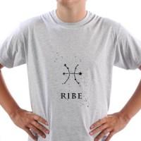 T-Shirt Pisces Zodiac Sign