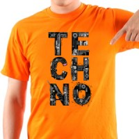 T-shirt Techno