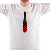 T-shirt Tie And Pocket