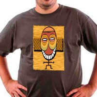 T-shirt Tribal Mask