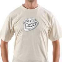 T-shirt Trollface