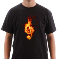 T-shirt Violin Key