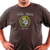 T-shirt White Viking Beer