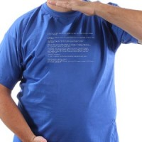 T-shirt Xp Blue Screen